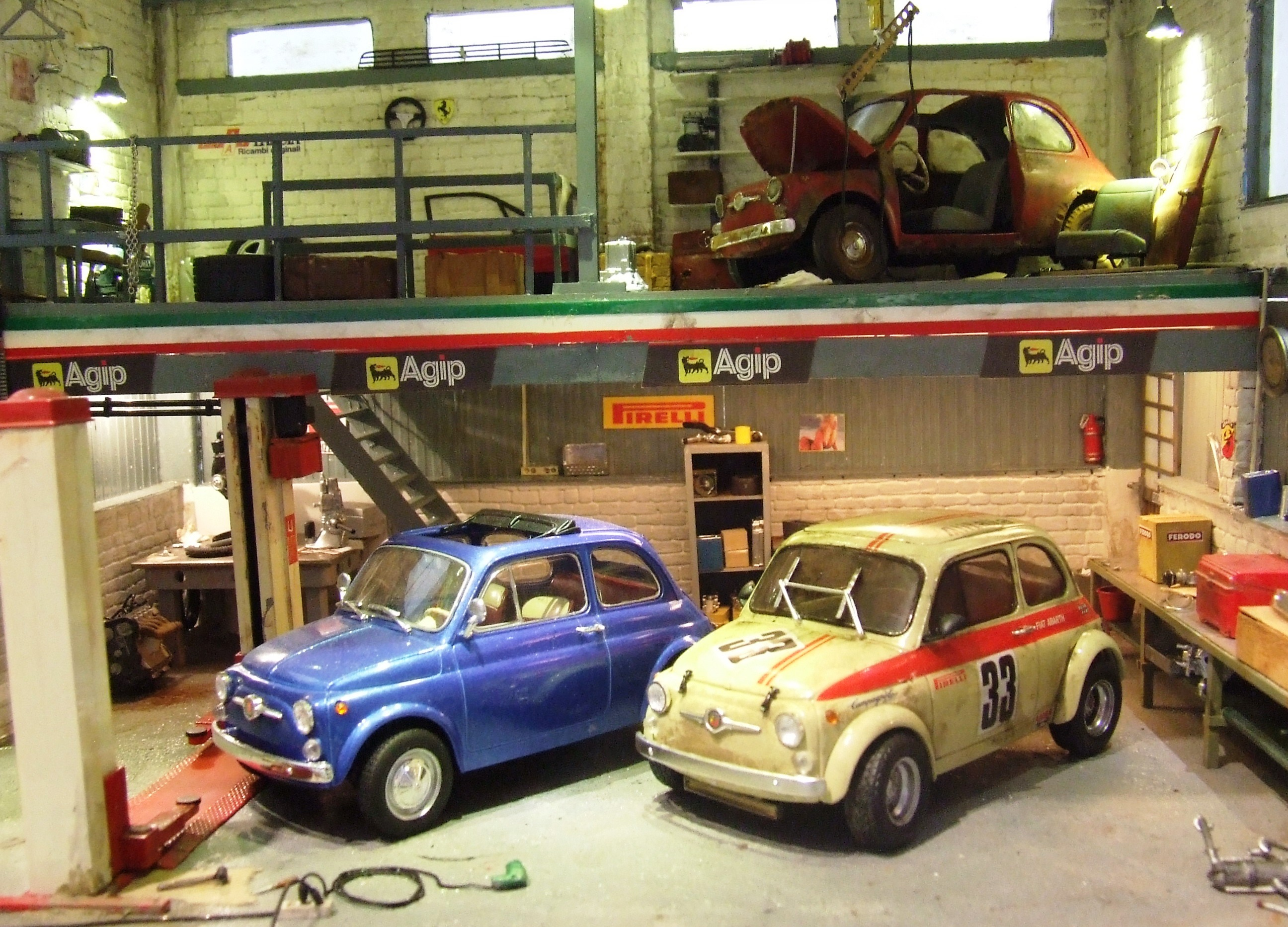 Fiat abarth garage 015 for Garage fiat 500