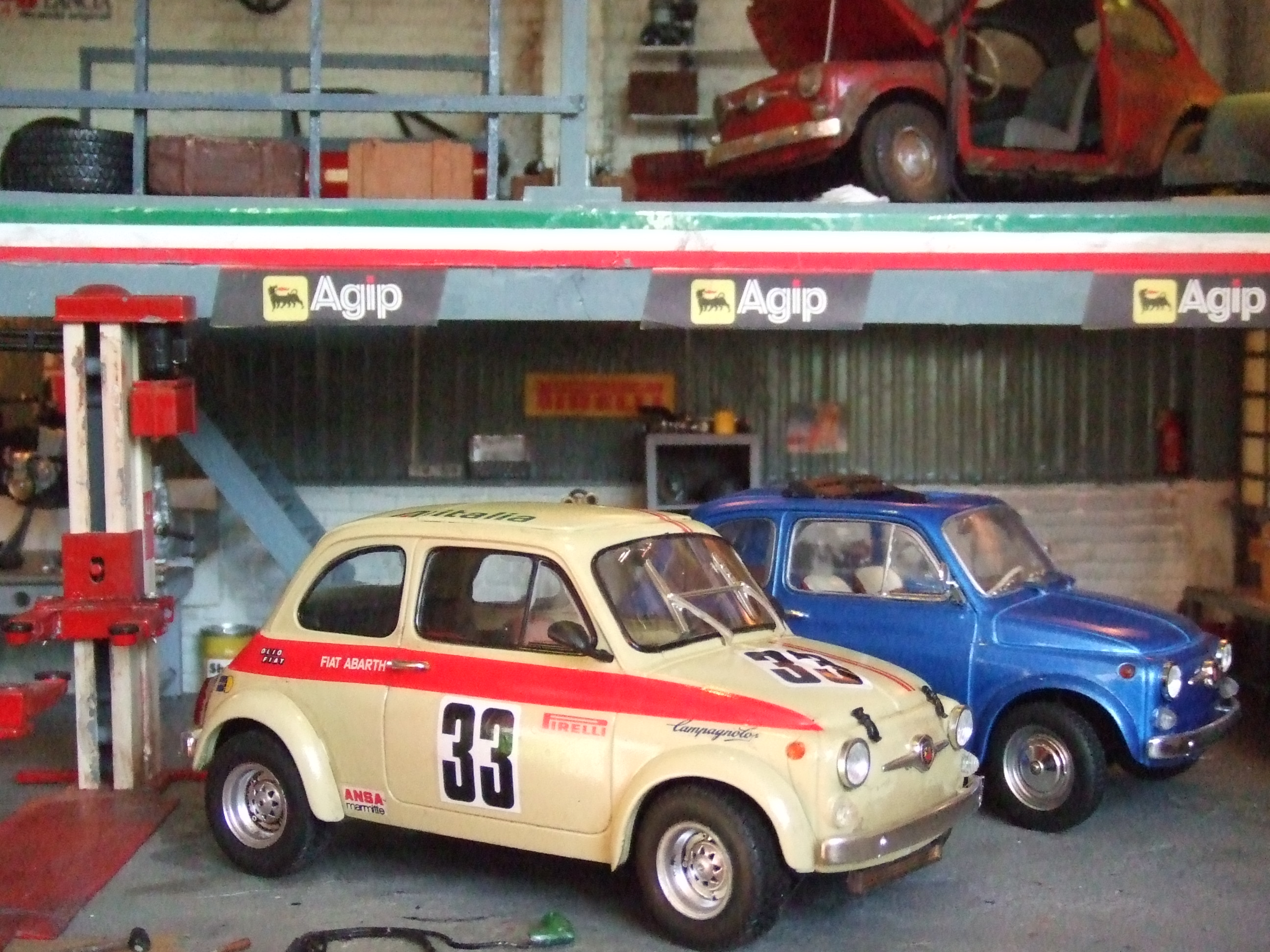 Fiat abarth garage4 015 for Garage fiat echirolles